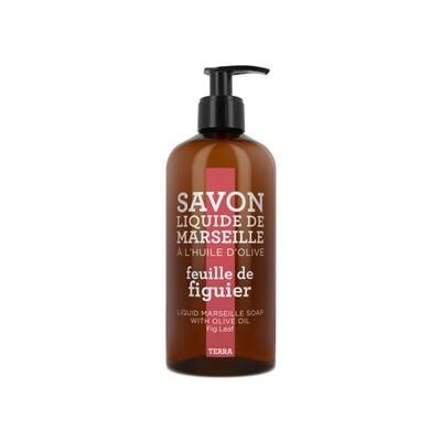 Compagnie De Provence 500ml Fig Leaf, Terra Liquid Marseille Soap