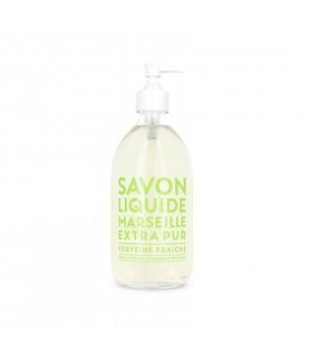 Compagnie De Provence 500ml Fresh Verbena, Extra Pur Liquid Marseille soap