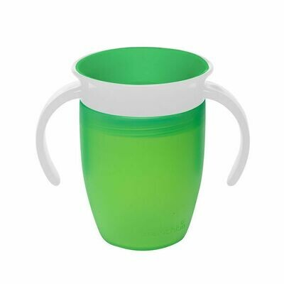 MUNCHKIN MIRACLE 360 TRAINER CUP 207ML GREEN