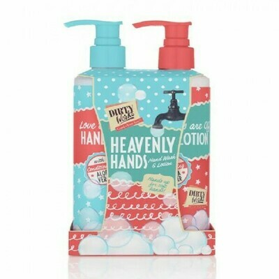 DIRTY WORKS HEAVENLY HANDS - Hand Wash & Lotion