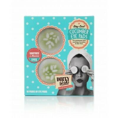 DIRTY WORKS Cucumber Eye Pads (μάσκα ματιων *10τεμ)
