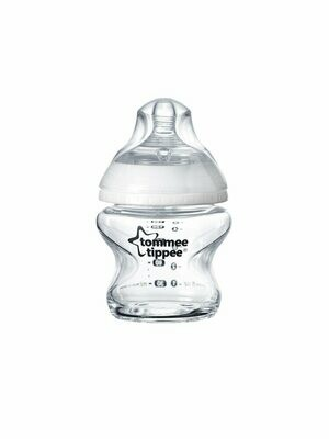 CLOSER TO NATURE ANTI COLIC GLASS BOTTLE 150ML