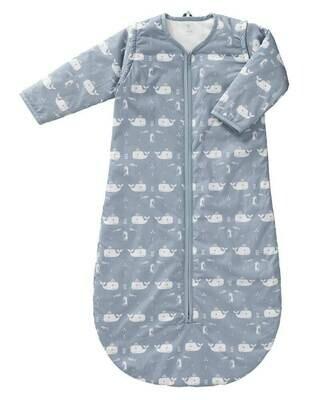 Fresk  - Sleeping bag zip sleeve winter 110 cm Whale blue fog