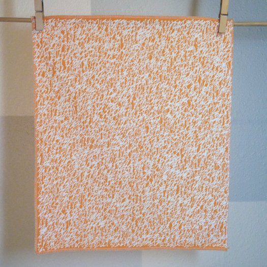 Scribbles - Hand Printed Fabric Panel FP0016