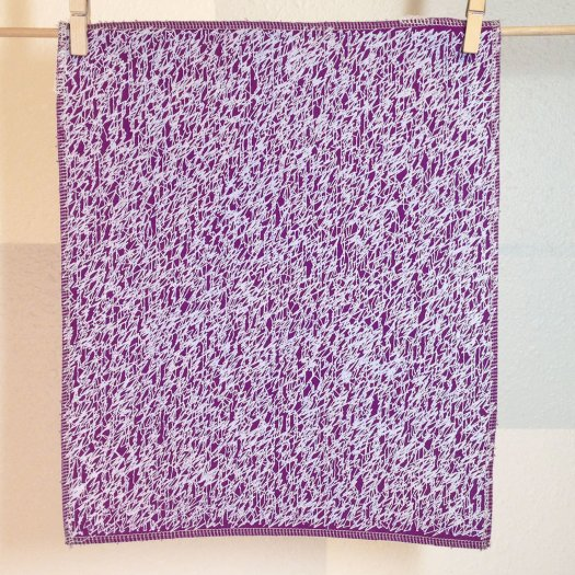 Scribbles Fabric Panel