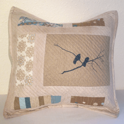 Crow Pillow No. 2 front