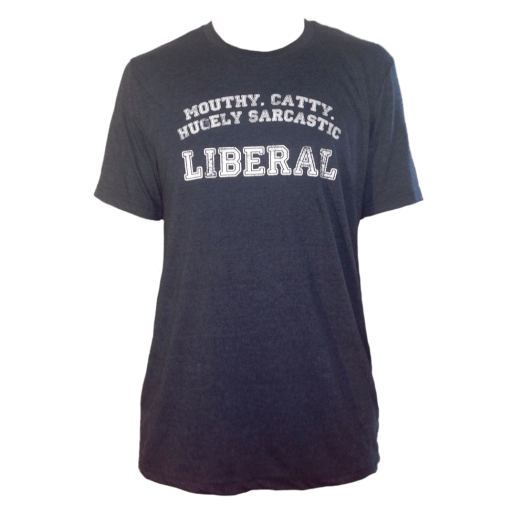 Sarcastic Liberal - Unisex Cotton/Poly Tee - Size XL