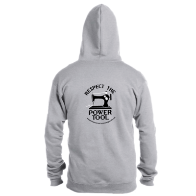 Respect The Power Tool* - Full Zip Hoody - Size XL