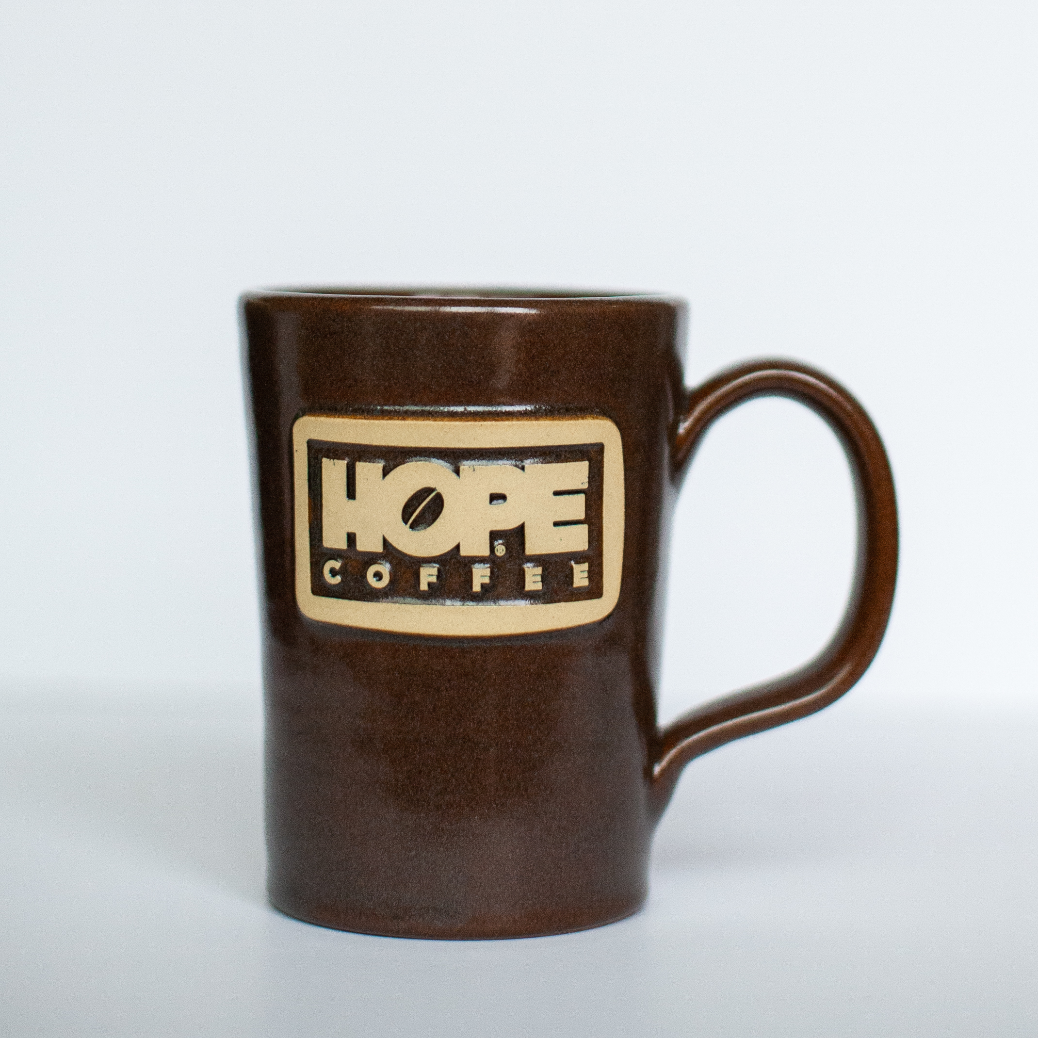 HOPE Coffee 12 oz Handcrafted Stoneware Mug - Abby Style 20020
