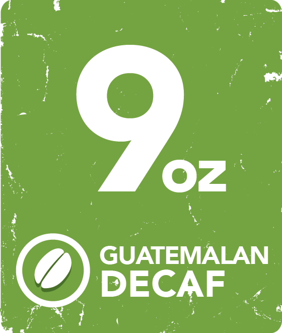 Guatemalan Decaf - 9 oz. Packets or Cases starting at: