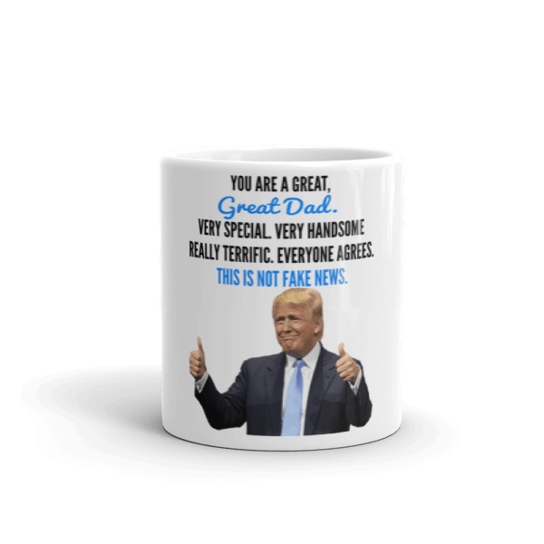 Coffee Mug - Trump Father's Day (Thumbs Up)