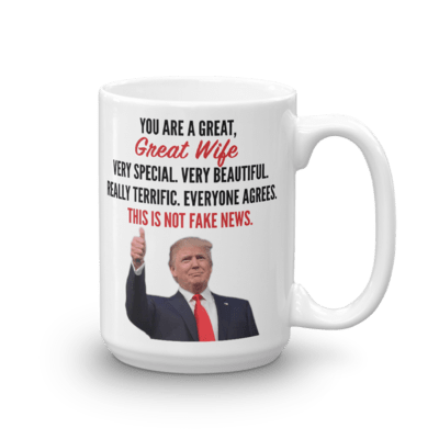 Coffee Mug - Trump Wife (Thumbs Up)