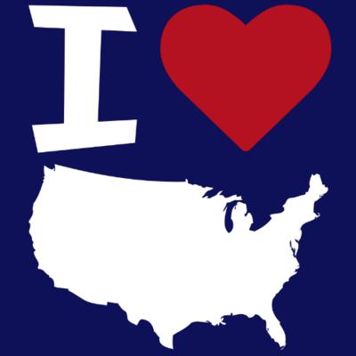 Tank Top - I Love America