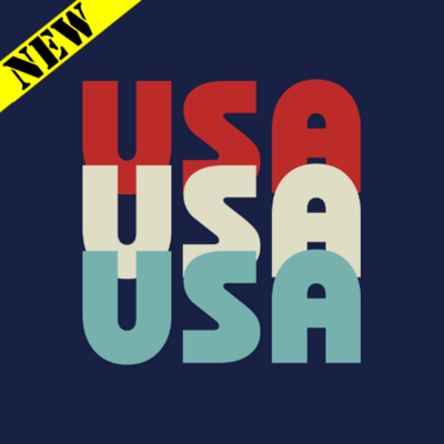 T-Shirt - USA Tri-Color