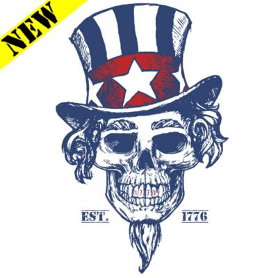 T-Shirt - Uncle Sam Skull