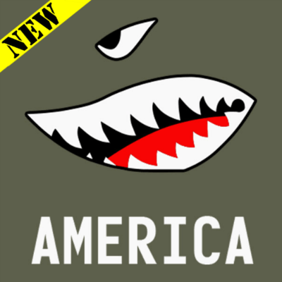 T-Shirt - American Bomb Face