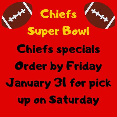 Chiefs Super Bowl Specials