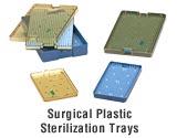 Surgical Sterilization Tray - Large Single 6100A