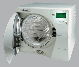 Bravo 21V chamber autoclave (with Data Logger) M7A320011