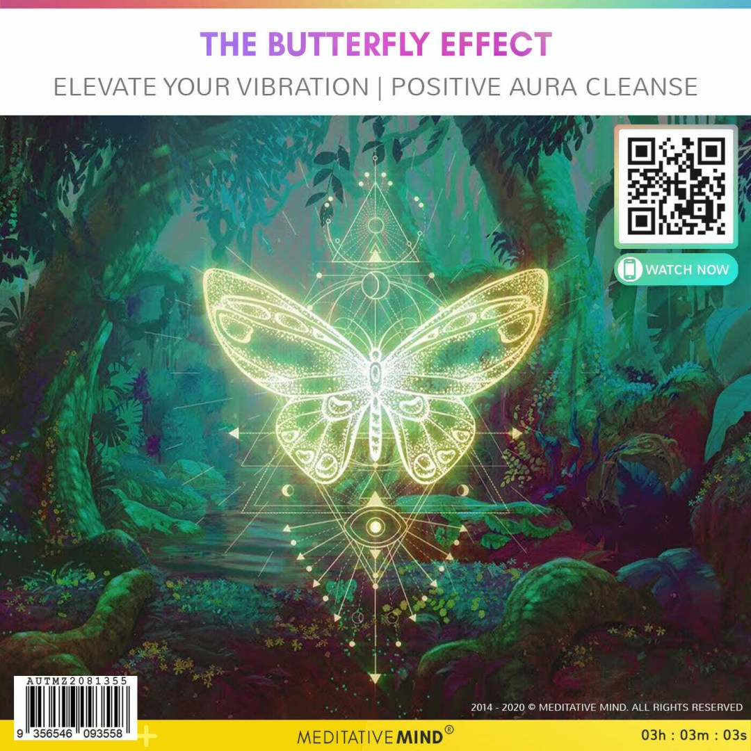 THE BUTTERFLY EFFECT - Elevate your Vibration   Positive Aura Cleanse