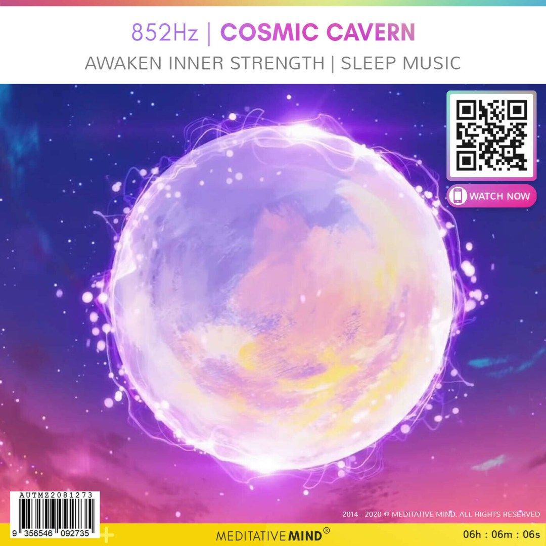 852Hz | COSMIC CAVERN - Awaken Inner Strength | Sleep Music