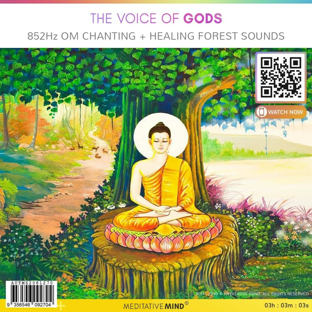 The Voice of Gods - 852Hz | OM Chanting + Healing Forest Sounds