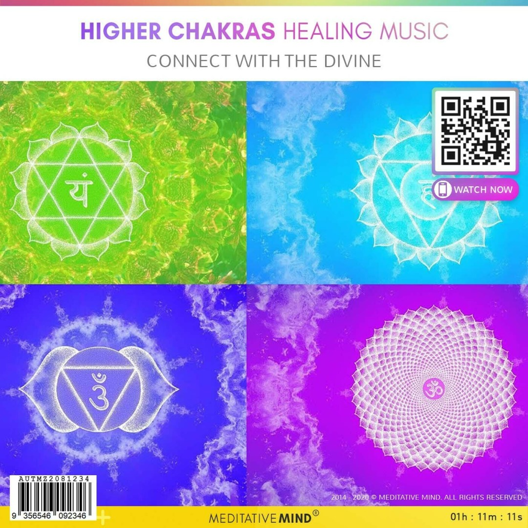 HIGHER CHAKRAS HEALING MUSIC - Connect with the Divine