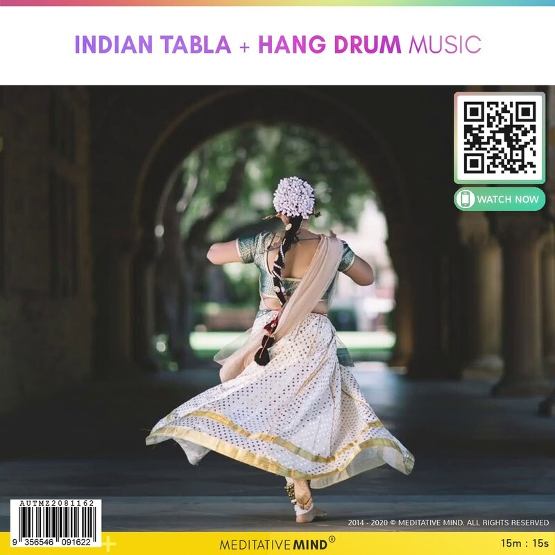 Indian Tabla + Hang Drum Music