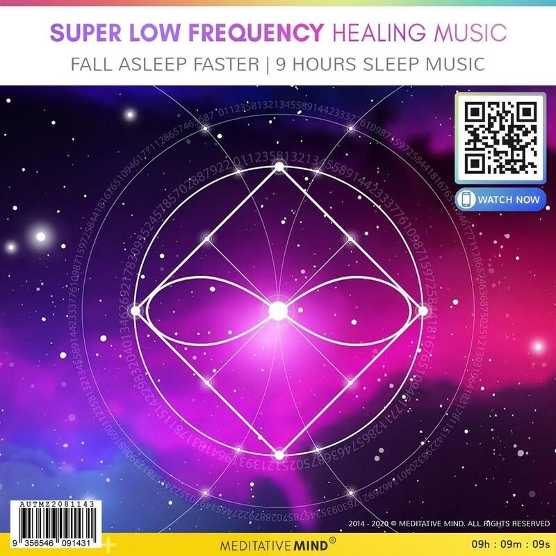 Super Low Frequency Healing Music - Fall Asleep Faster   9 Hours Sleep Music