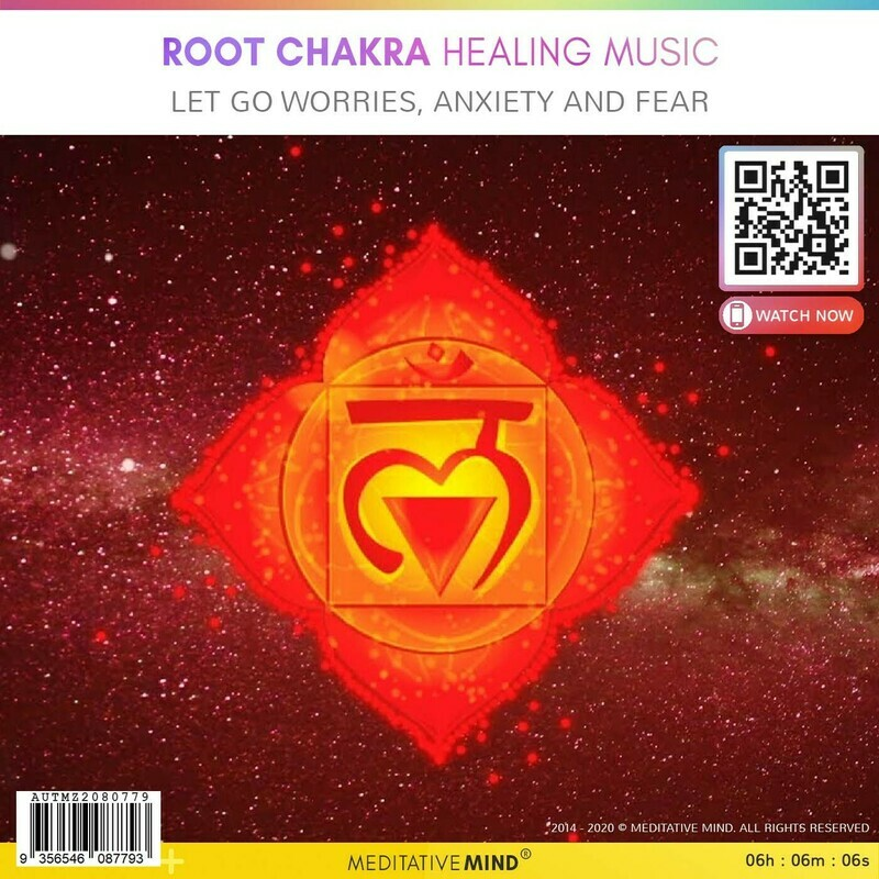 Root Chakra Healing Music - Let Go Worries, Anxiety and Fear