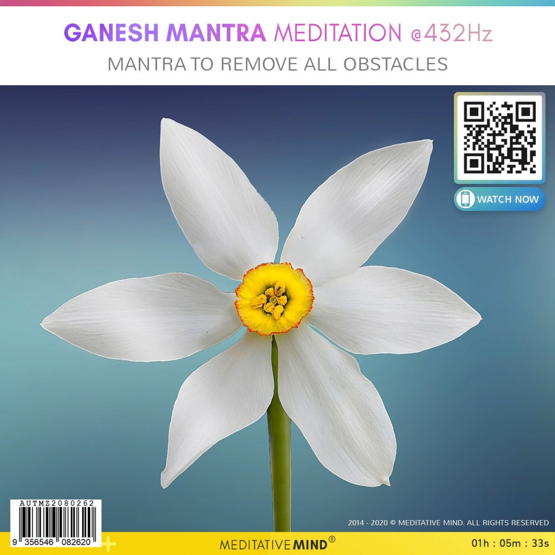 Ganesh Mantra Meditation @432Hz - Mantra to Remove All Obstacles