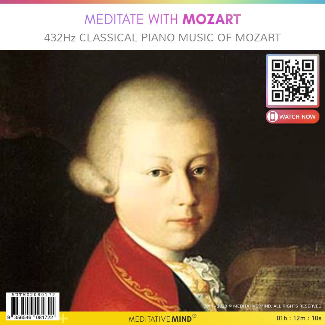 Meditate with Mozart - 432Hz Classical Piano Music of Mozart