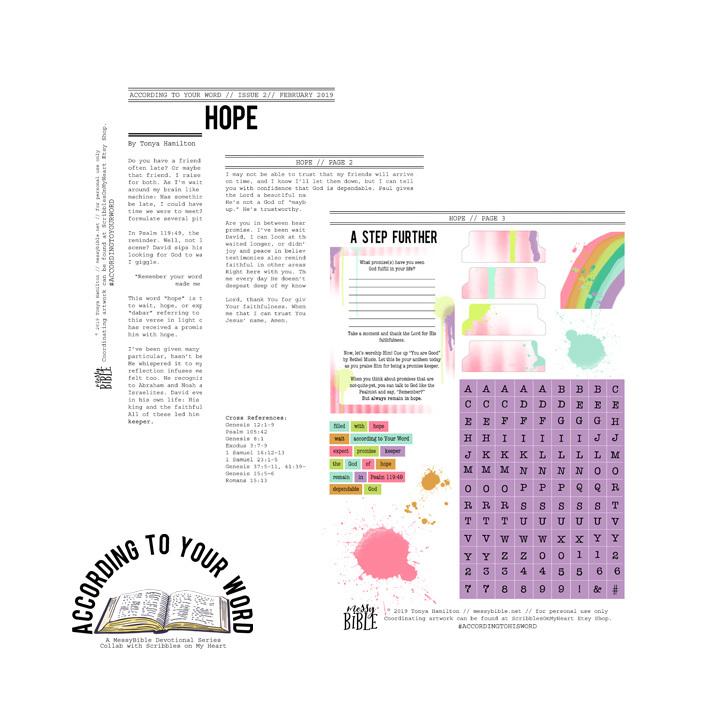 Hope Devotional Kit (Digital Kit) 6001
