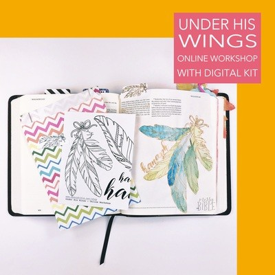 Under His Wings - Online Workshop (with Physical Kit)