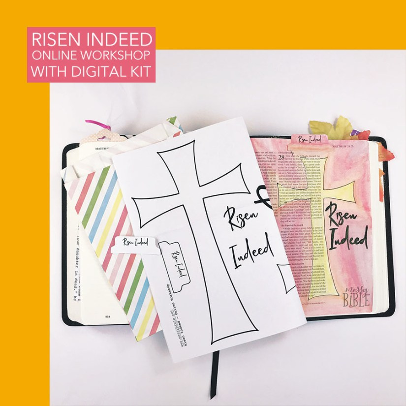 Risen Indeed - Online Workshop (with Digital Kit) 2018