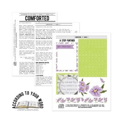 Comforted Devotional Kit (April '19 ATYW Digital Kit)