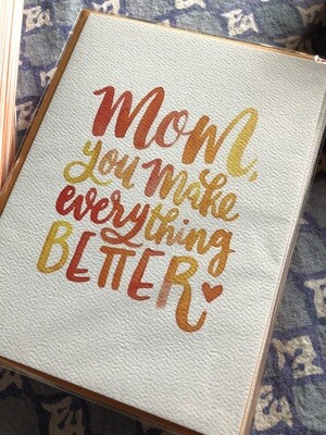 Everything Better Card