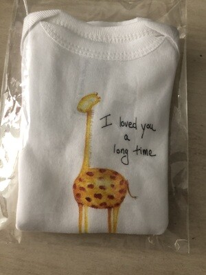 I Loved You A Long Time Onesie - 12 Months