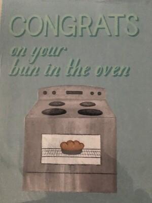 Bun In The Oven Card
