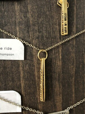 Buy The Ticket, Take The Ride Necklace