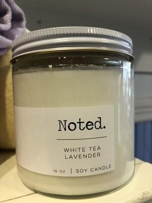 White Tea Lavender Candle - 16 oz.