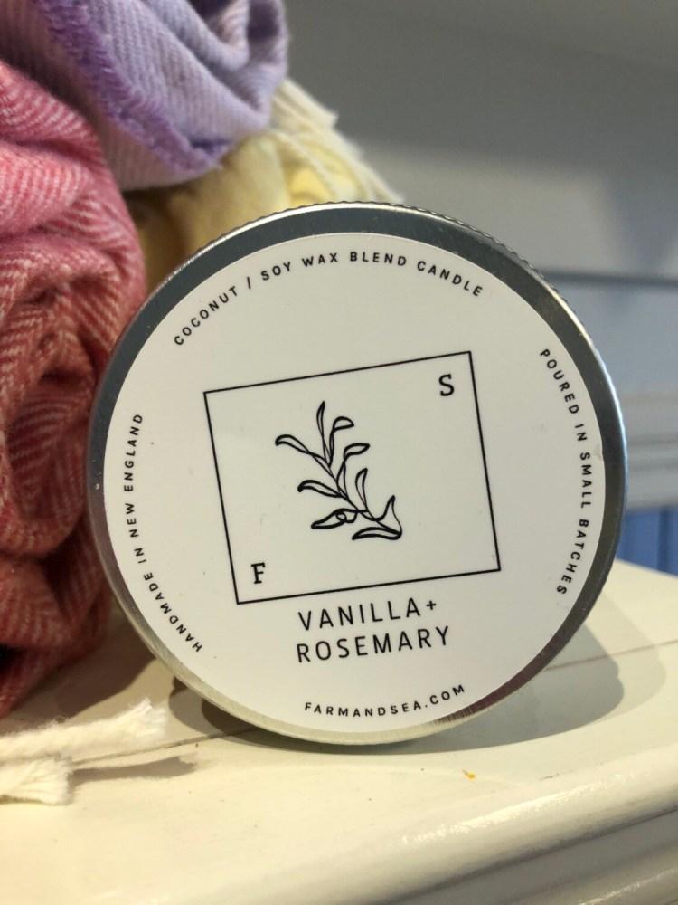 Vanilla Rosemary Candle - 7.5 oz.