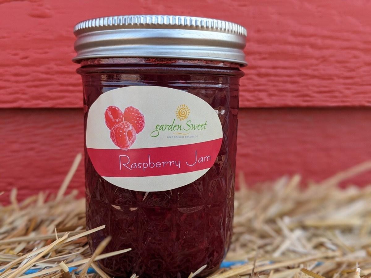 Garden Sweet Raspberry Jam