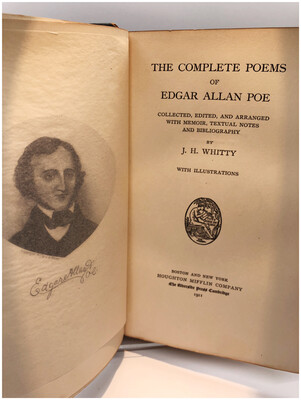 1911 Edgar Allan Poe Complete Poems