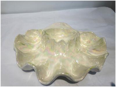 Vintage Handmade Oyster Chip n Dip