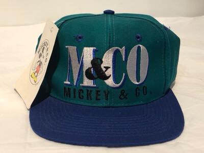 Vintage Mickey and Co Snapback Hat