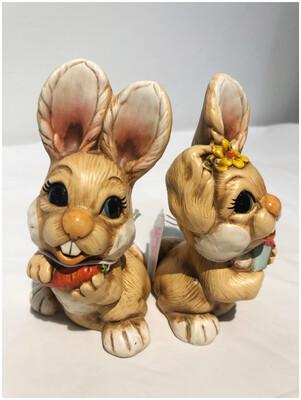 Vintage Spring Bunnies