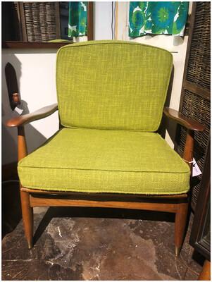 Mid Century Walnut Lounge Chair