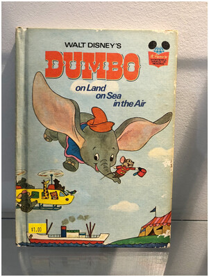 1972 Dumbo On Land On Sea In The Air