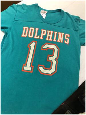 Vintage Miami Dolphins Rawlings Shirt #13